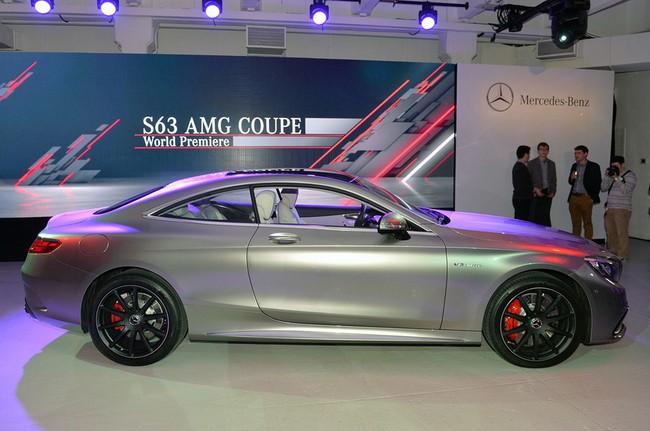 Mercedes-Benz S63 AMG Coupe 2015: Thể thao, mạnh mẽ và sang trọng 8