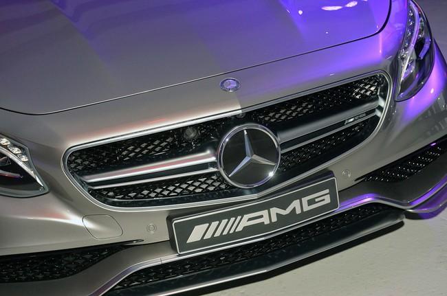 Mercedes-Benz S63 AMG Coupe 2015: Thể thao, mạnh mẽ và sang trọng 10