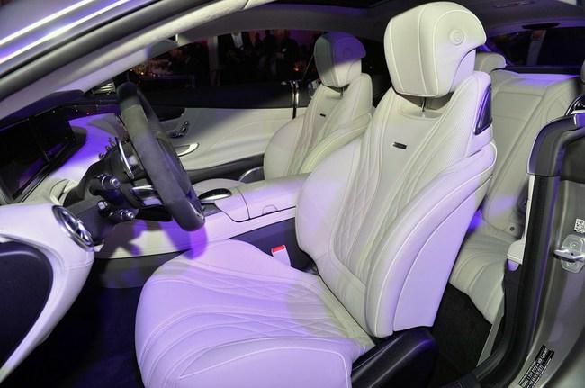 Mercedes-Benz S63 AMG Coupe 2015: Thể thao, mạnh mẽ và sang trọng 12