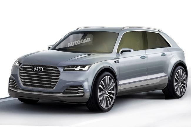 Audi Q8 sẽ ra mắt vào năm 2017 1