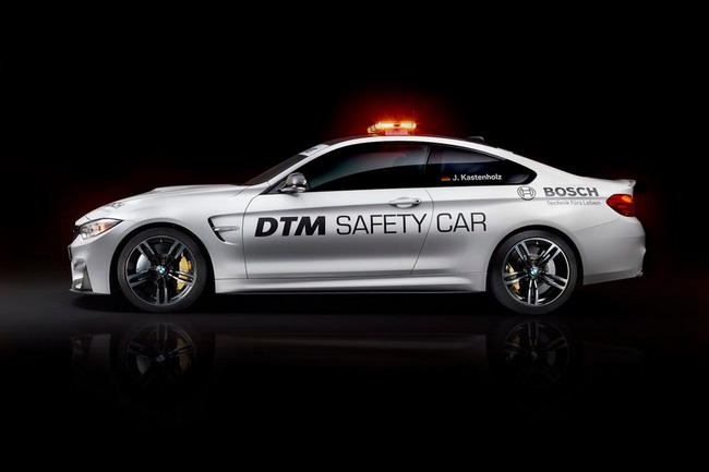 BMW M4 Coupe trở thành xe an toàn tại giải đua DTM 2014 2