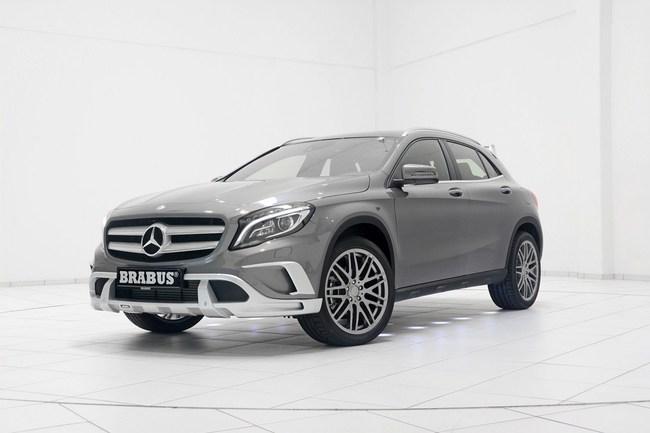 Mercedes-Benz GLA: Đẹp hơn và mạnh hơn với bản độ của Brabus 5