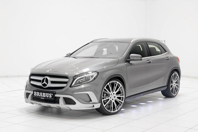 Mercedes-Benz GLA: Đẹp hơn và mạnh hơn với bản độ của Brabus 6