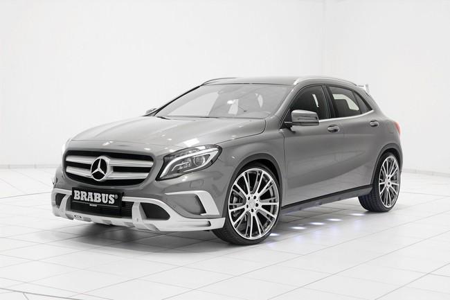 Mercedes-Benz GLA: Đẹp hơn và mạnh hơn với bản độ của Brabus 7