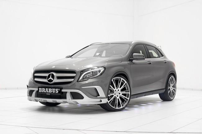 Mercedes-Benz GLA: Đẹp hơn và mạnh hơn với bản độ của Brabus 8