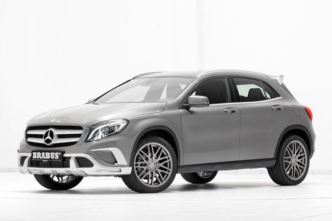 Mercedes-Benz GLA: Đẹp hơn và mạnh hơn với bản độ của Brabus 9