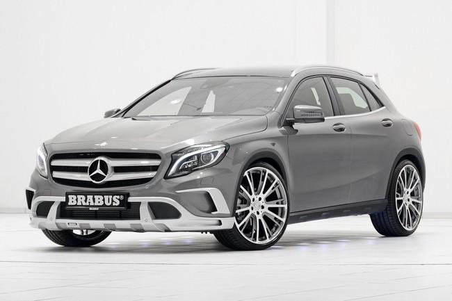 Mercedes-Benz GLA: Đẹp hơn và mạnh hơn với bản độ của Brabus 10