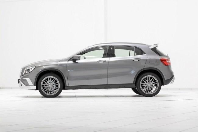 Mercedes-Benz GLA: Đẹp hơn và mạnh hơn với bản độ của Brabus 13