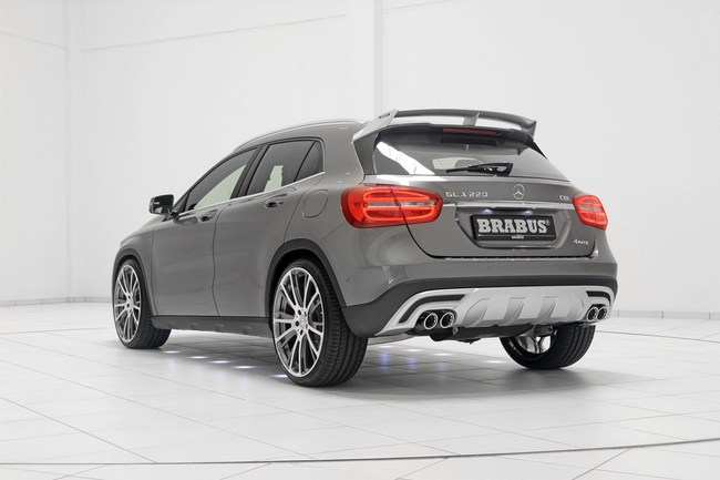 Mercedes-Benz GLA: Đẹp hơn và mạnh hơn với bản độ của Brabus 18