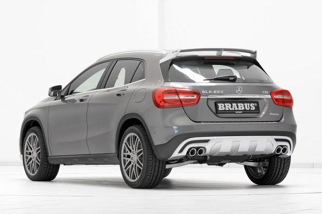 Mercedes-Benz GLA: Đẹp hơn và mạnh hơn với bản độ của Brabus 20