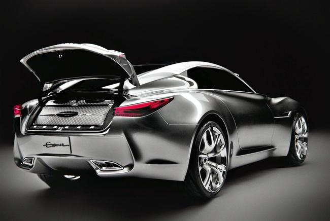 Infiniti sẽ ra mắt mẫu coupe bốn cửa trong vài năm tới 3