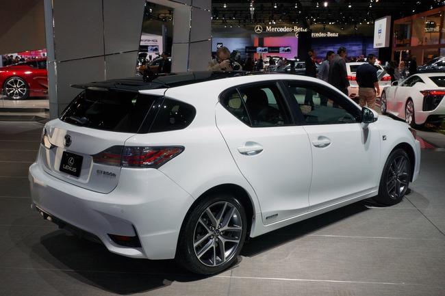 Lexus CT 200h 2014 chính thức ra mắt 3