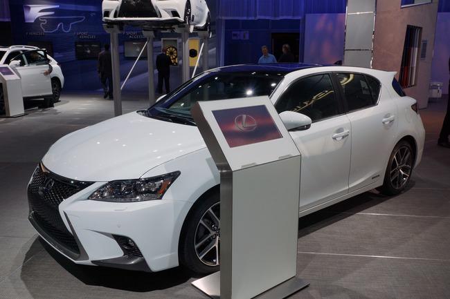 Lexus CT 200h 2014 chính thức ra mắt 4