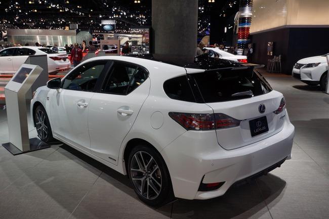 Lexus CT 200h 2014 chính thức ra mắt 5