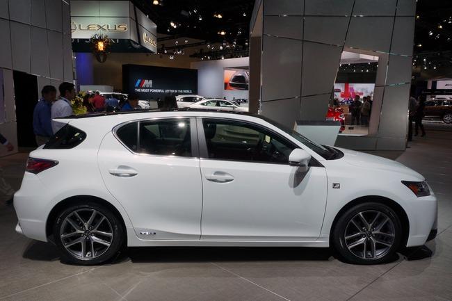 Lexus CT 200h 2014 chính thức ra mắt 6