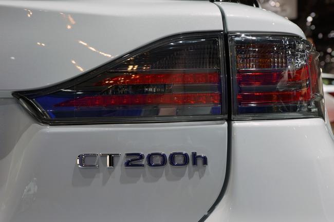 Lexus CT 200h 2014 chính thức ra mắt 13