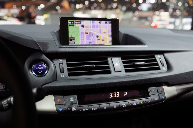 Lexus CT 200h 2014 chính thức ra mắt 19