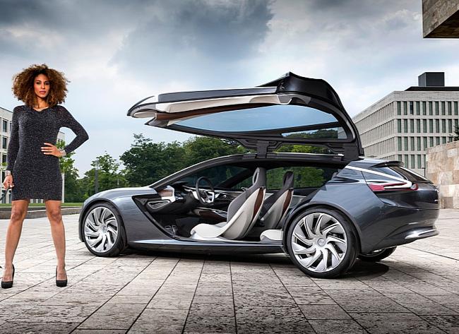 Opel Monza - Mẫu xe mang thiết kế của tương lai 1