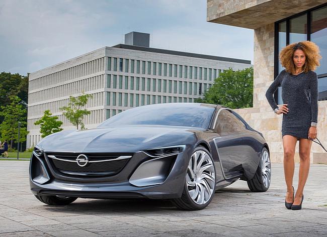 Opel Monza - Mẫu xe mang thiết kế của tương lai 2