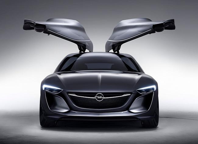 Opel Monza - Mẫu xe mang thiết kế của tương lai 3