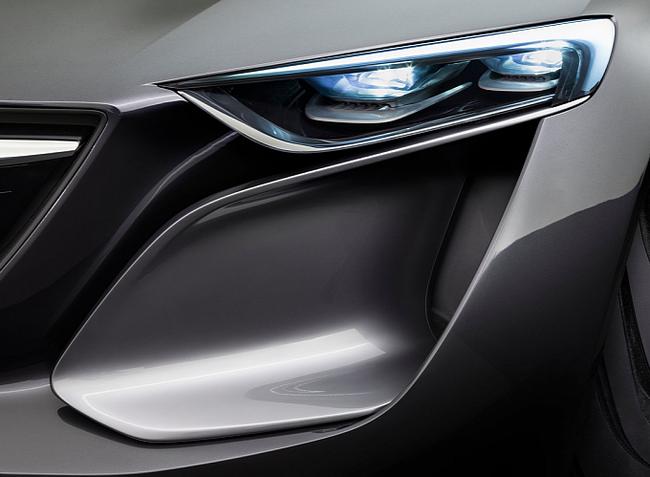 Opel Monza - Mẫu xe mang thiết kế của tương lai 4