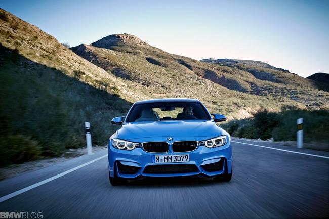 BMW M3 và M4 2014 tiết kiệm nhiên liệu hơn 25% 3
