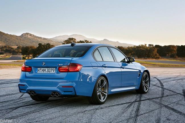 BMW M3 và M4 2014 tiết kiệm nhiên liệu hơn 25% 6