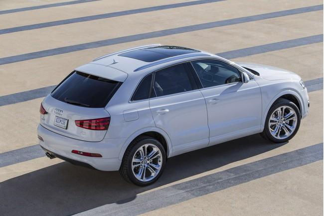 Audi Q3 2015 - Nhỏ gọn và hiện đại 5