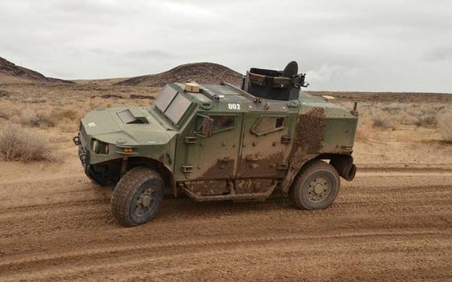 Quân đội Mỹ thử nghiệm xe hybrid thay thế HUMVEE 4