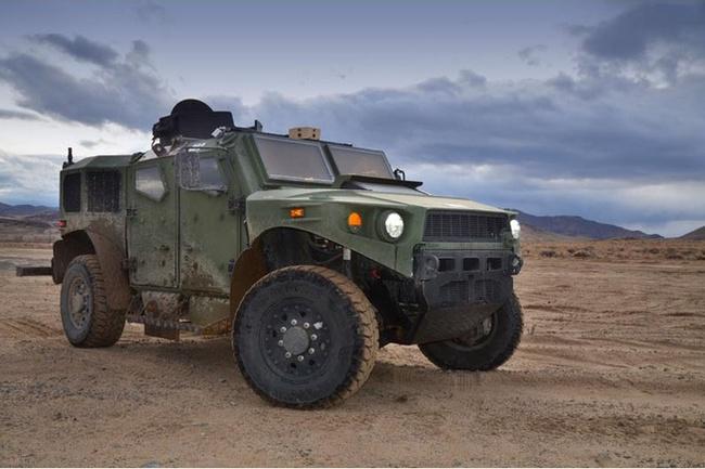 Quân đội Mỹ thử nghiệm xe hybrid thay thế HUMVEE 8