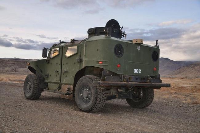 Quân đội Mỹ thử nghiệm xe hybrid thay thế HUMVEE 12