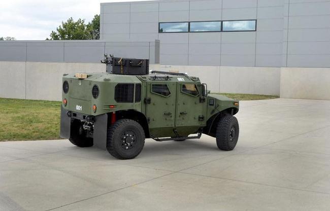 Quân đội Mỹ thử nghiệm xe hybrid thay thế HUMVEE 14