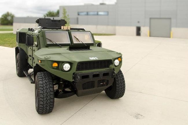 Quân đội Mỹ thử nghiệm xe hybrid thay thế HUMVEE 15