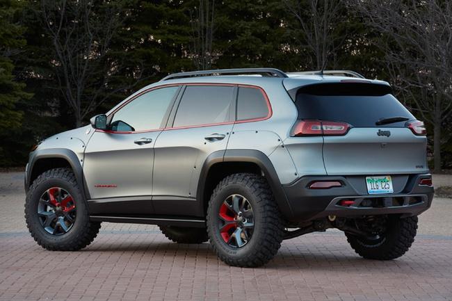 """Jeep giới thiệu 6 bản concept mới cực """"đỉnh"""" 7"""