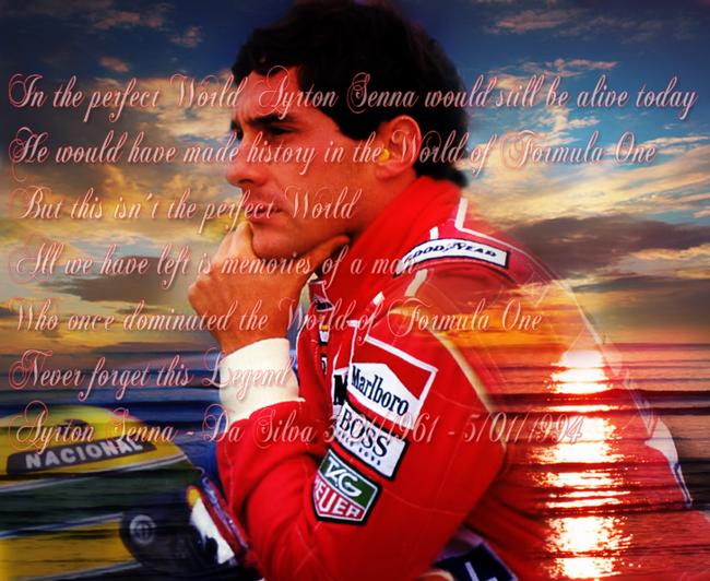 Ayrton Senna - Một tay đua tài năng, một nhân cách lớn 2