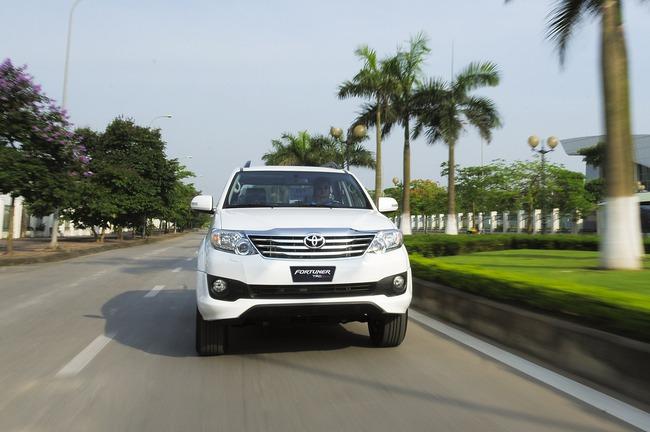 Toyota ra mắt Fortuner TRD Sportivo 2014 với màu trắng khác biệt 1