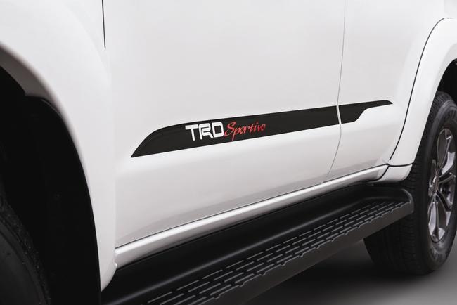 Toyota ra mắt Fortuner TRD Sportivo 2014 với màu trắng khác biệt 6