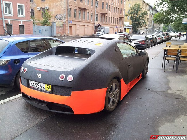 """Bugatti Veyron WRE """"nhái"""" cực xấu 1"""