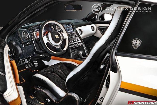Nội thất tuyệt đẹp cho siêu xe giá rẻ Nissan GT-R 2