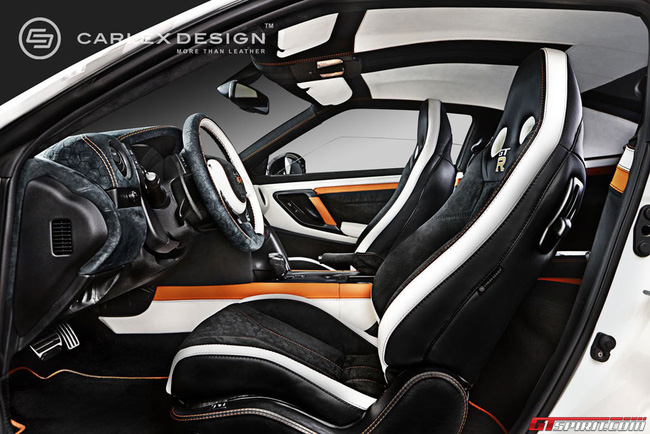 Nội thất tuyệt đẹp cho siêu xe giá rẻ Nissan GT-R 3