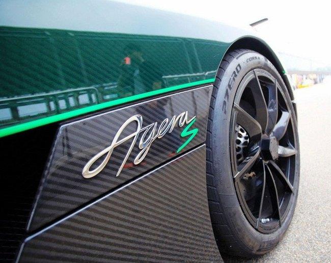 """""""Tàu siêu tốc"""" Koenigsegg Agera S lên đường đua 3"""