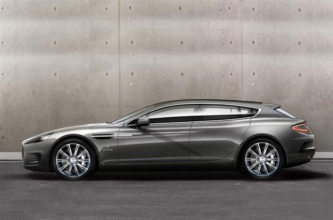 """Một """"nữ hoàng"""" Aston Martin Rapide khác biệt 1"""