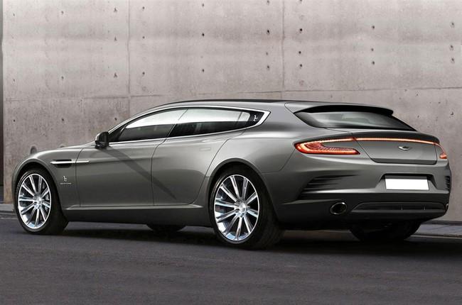 """Một """"nữ hoàng"""" Aston Martin Rapide khác biệt 2"""