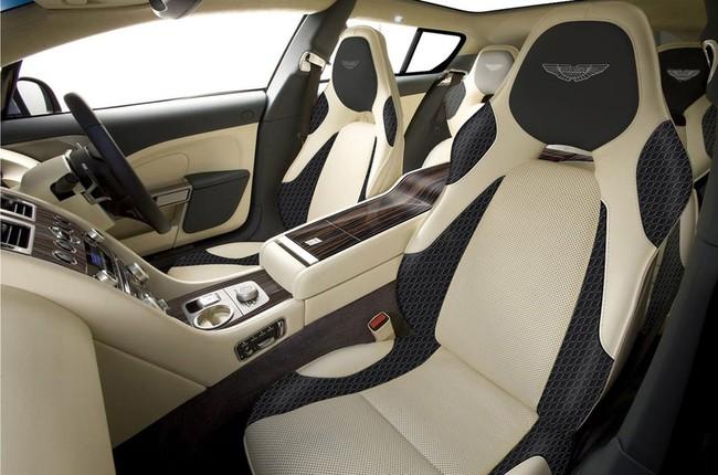 """Một """"nữ hoàng"""" Aston Martin Rapide khác biệt 3"""
