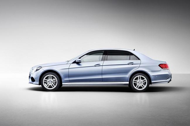 Mercedes-Benz E-Class phiên bản kéo dài lộ diện 1