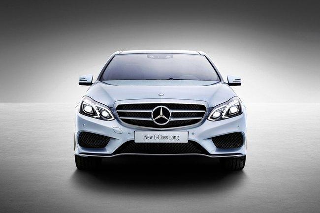 Mercedes-Benz E-Class phiên bản kéo dài lộ diện 2