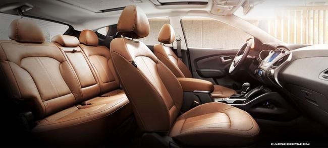 Hyundai Tucson ix 2014 lộ diện 13