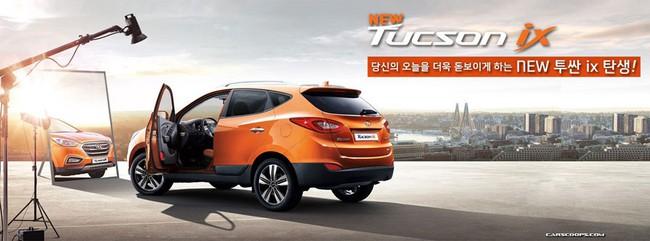 Hyundai Tucson ix 2014 lộ diện 3