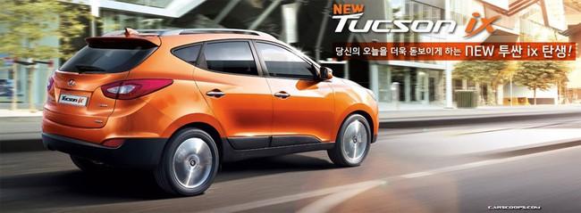 Hyundai Tucson ix 2014 lộ diện 2