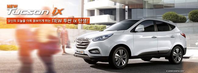 Hyundai Tucson ix 2014 lộ diện 4